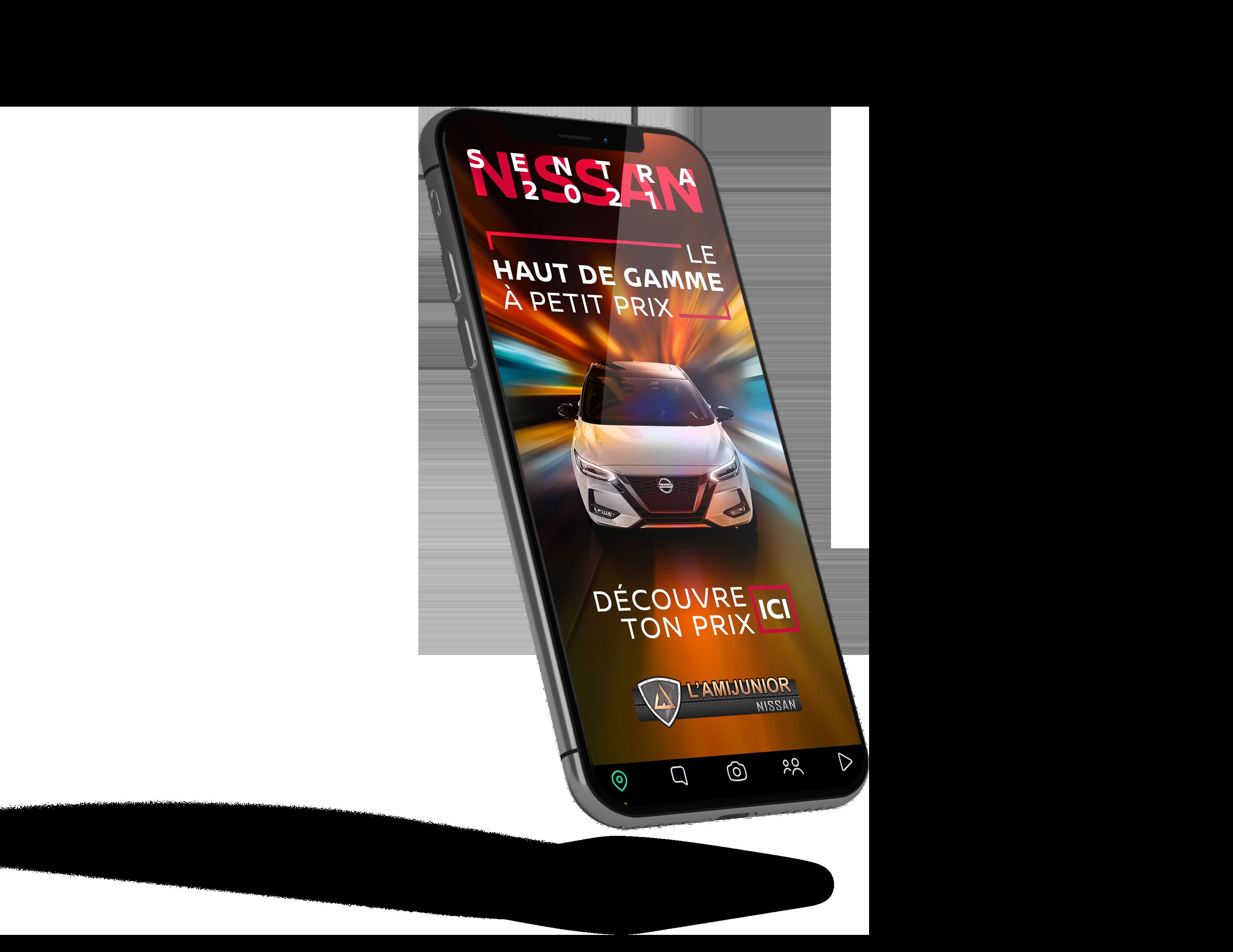 Pub Nissan Sentra 2021
